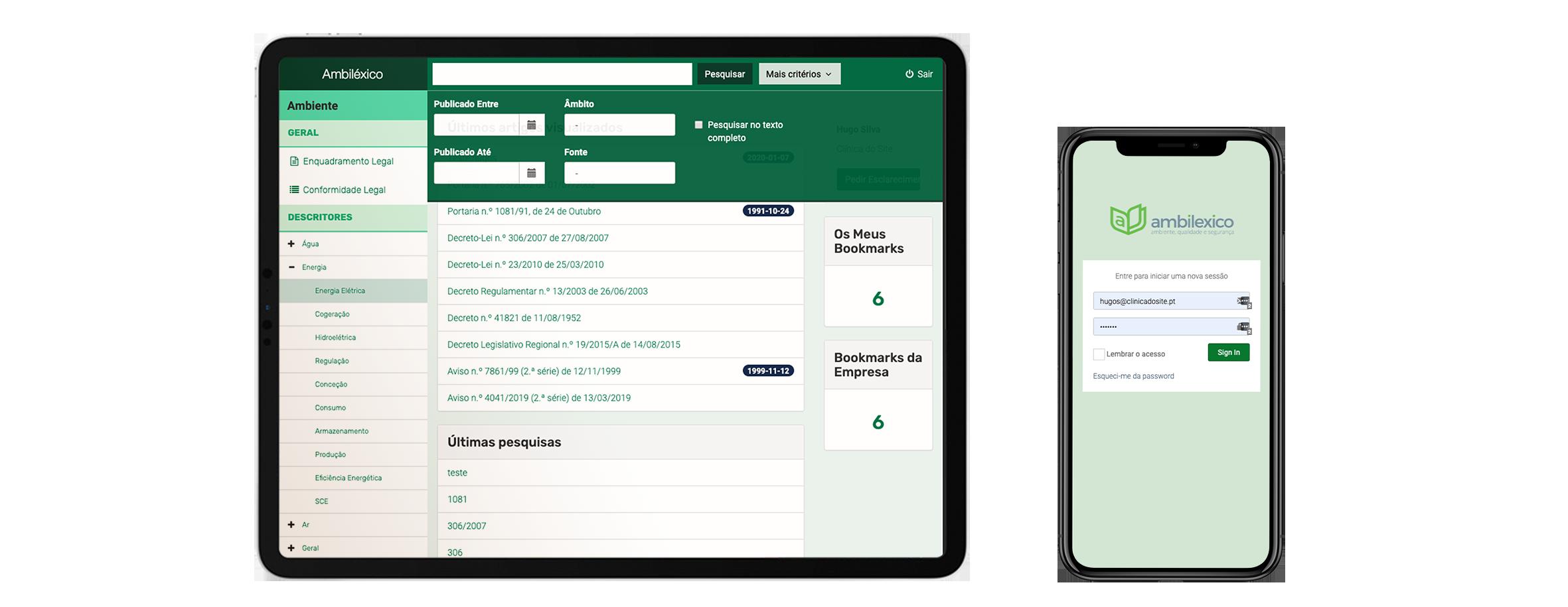App Bases de Dados de Legislação